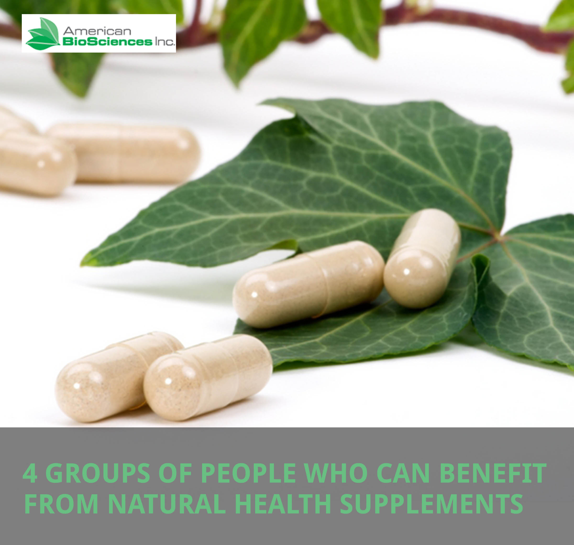 4 groups of people who can benefit from natural health supplements