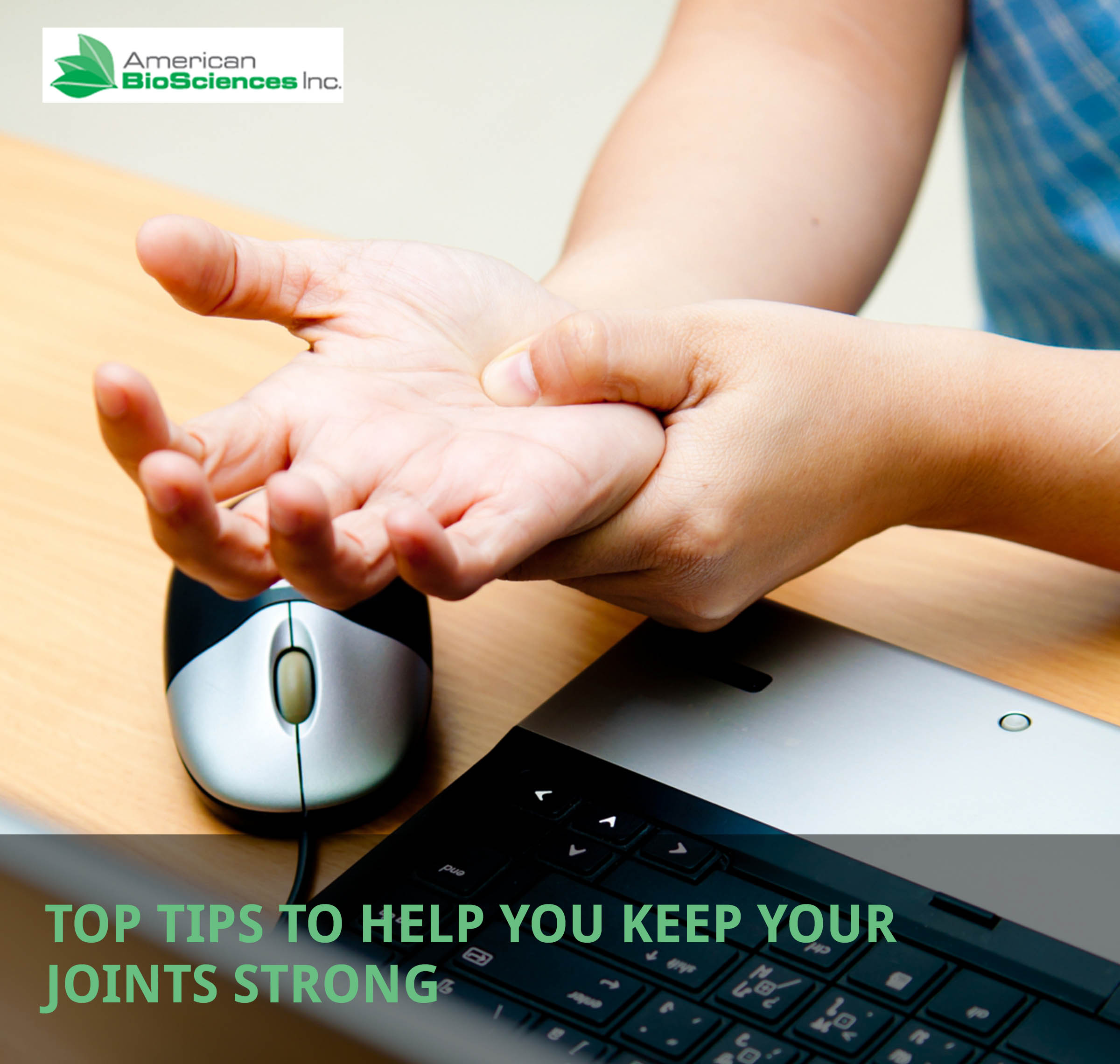 top tips to keep your joints strong