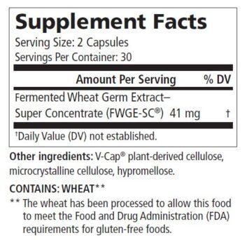 Metatrol PRO Supplement Facts